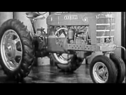 FARMALL M  H 1930s Sales video