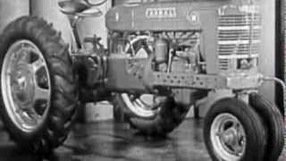 FARMALL M  H 1930s Sales video