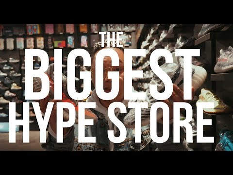 BIGGEST HYPE STORE IN HONG KONG || EXTENSIVE PUBLICITY
