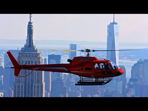 HELIKOPTER ÖVER NEW YORK | FÖRSTA VLOGGEN I NEW YORK