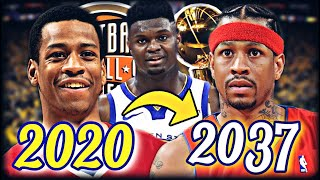 ALLEN IVERSON'S CAREER RE-SIMULATION! | TEAMING UP WITH ZION? BEST SCORER EVER? | NBA 2K20