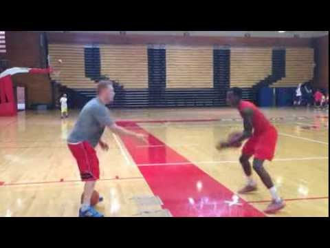 Drive Hoops Works Out Marist College Men