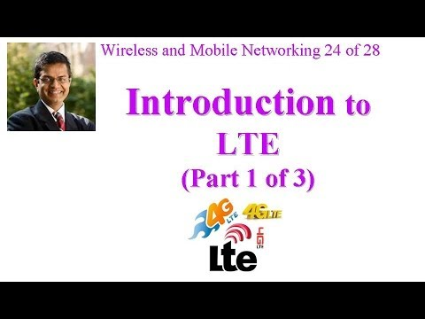 CSE 574-14-15A: Introduction to LTE (Part 1 of 3)