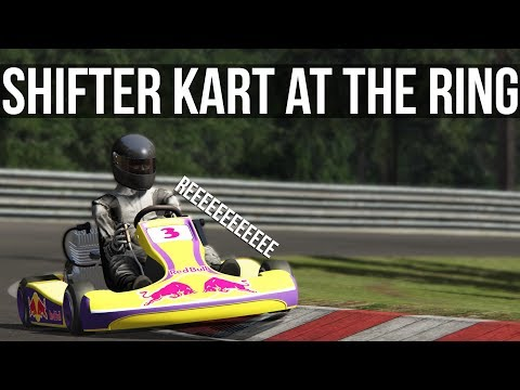 Taking On The Nordschleife In A 125cc Shifter Kart