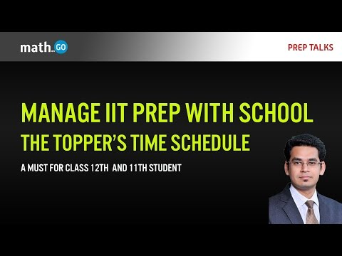 Manage School and Coaching - The Toppers Schedule