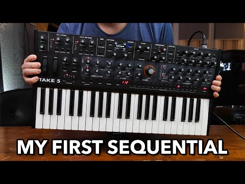 Download Sequential Take 5 Synthesizer // First Impressions, Sound Demos & Walkthrough (my first Sequential)