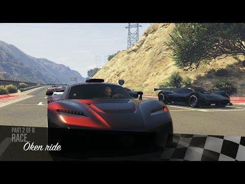 GTA 5 VÄLDIGT SPECIELLA RACE