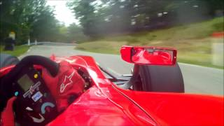 Onboard with David Hauser (Dallara GP2) - Course de côte de Turckheim 2013