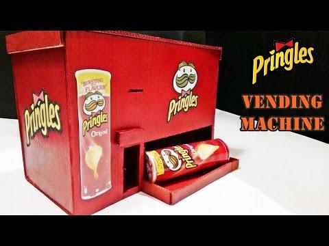 How To Make Pringles Vending Machine - DIY