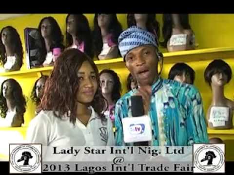 Lady Star @ 2013 Lagos Int'l Trade Fair x264