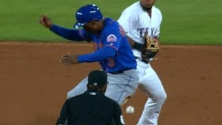 NYM@TEX: Reynolds scampers home to put the Mets ahead