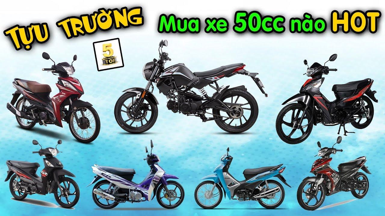 Giá xe máy 50cc tháng 9/2019 SIÊU RẺ ▶️ Mua xe 50cc mùa TỰU TRƯỜNG 🔴 TOP 5 ĐAM MÊ