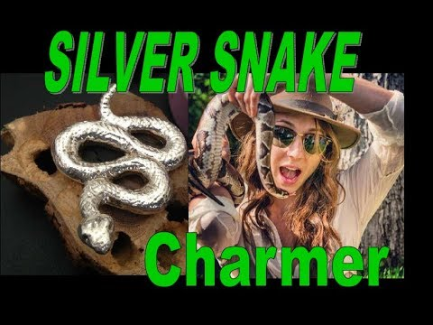 Hand Poured Silver Cast: Christopher Sanchez Snake