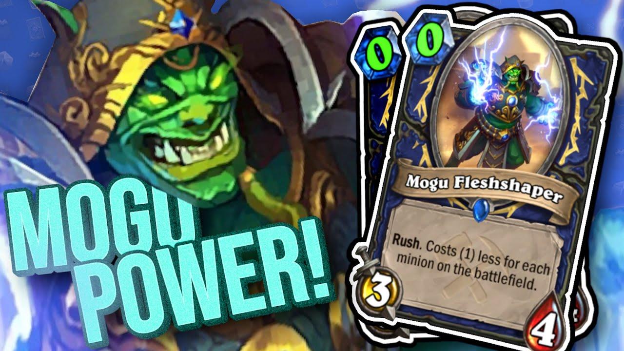 0 Mana Mogu Fleshshapers PEW PEW! | Shaman Demon Hunter Dual Class Arena