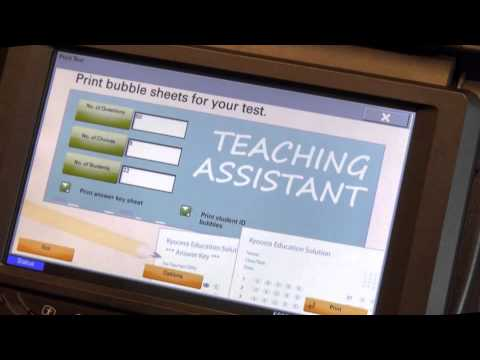 Kyocera Teaching Assistant - YouTube 5f233254381
