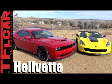 2017 Chevy Corvette Grand Sport Vs Dodge Challenger Hellcat Mashup Review Which One To