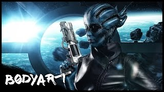 PEEBEE COSPLAY || Mass Effect Andromeda || FACEPAINTING [UdPP]