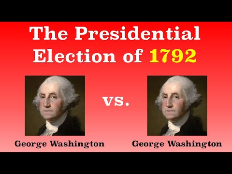 The American Presidential Election of 1792