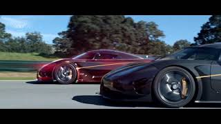 Best Cars:  Koenigsegg One:1 versus a digital clone!
