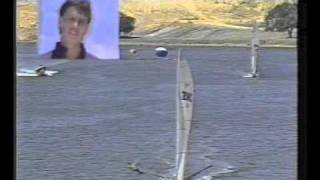 18 footers 1987  swan river grand prix, best sailing in the history of the sport.wmv