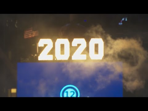 Times Square 2020 Ball Drop in New York City: full video