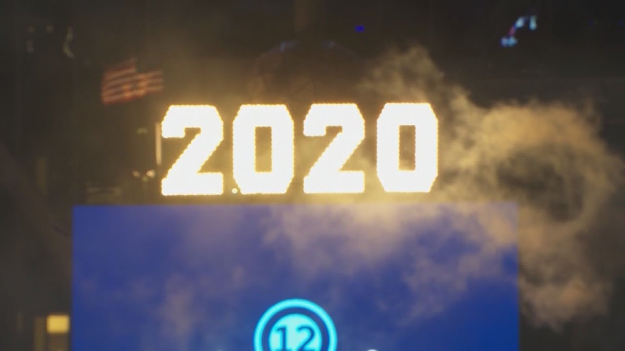 Download Times Square 2020 Ball Drop in New York City: full video