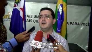 Mucuri ganha 5 novos veículos e obras de um novo Centro Médico em Itabatã