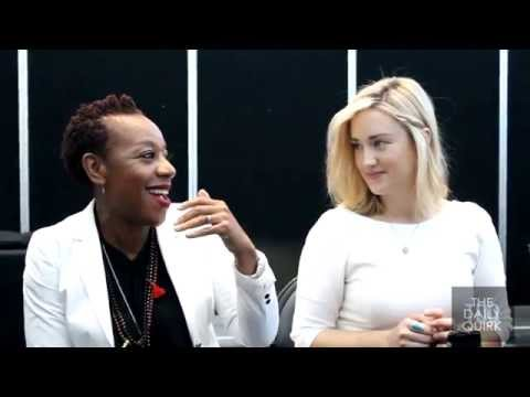 Marianne Jean-Baptiste and Ashley Johnson 'Blindspot' Interview
