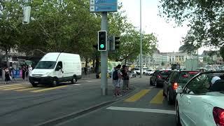 Driving trough Zürich, Switzerland/ Slow speed/ 08.2013/ FullHD