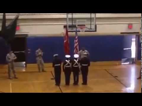 Lincoln High School Mcjrotc Yonkers Color Guard At