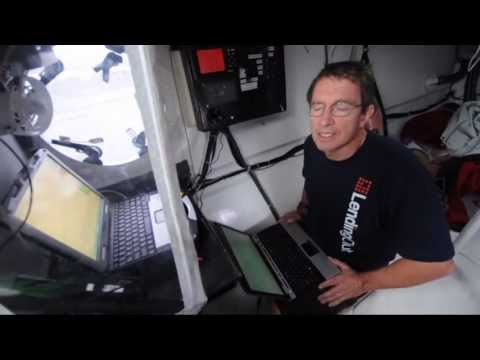 Transpac 2013: navigator Will Oxley explains his job onboard trimaran Tritium Lending Club