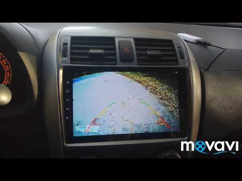 обзор Android магнитолы Toyota Corolla E-150