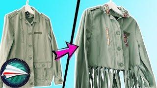 Upcycling starych ubrań | pomysły na odświeżanie, ozdabianie ubrań |  szycie dla początkujących