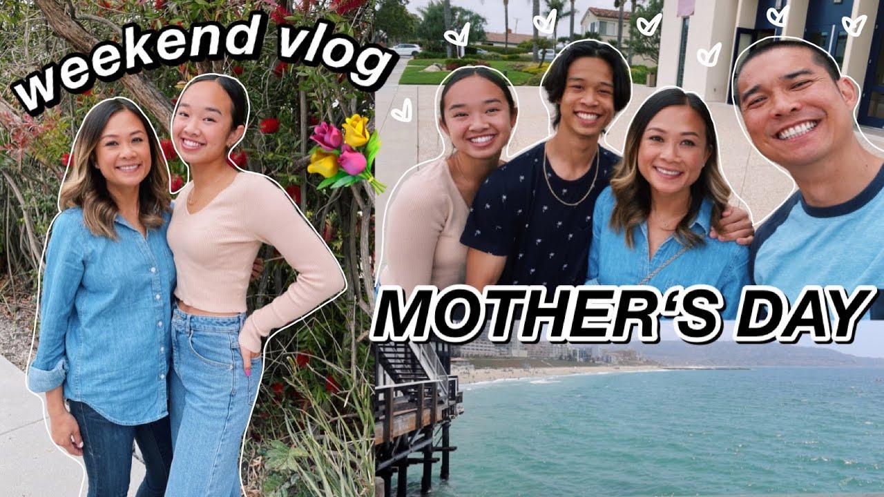 weekend vlog! mother's day 💐 Nicole Laeno