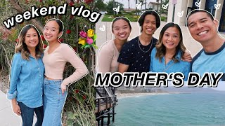 weekend vlog! mother's day 💐 Nicole Laeno