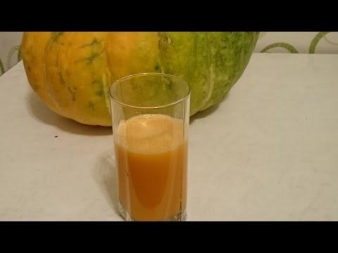 Тыквенный сок из тыквы 2 Рецепта народного средства и польза сока в домашних условиях