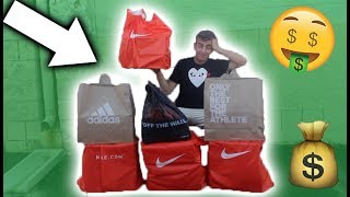 HOW I MADE $500 TODAY BY RESELLING SNEAKERS!!!