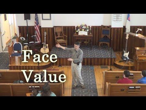 Sermon | Face Value