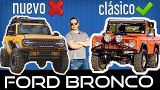 The New and The Classic Ford Bronco, History and Presentation, did you know this? first impressions!