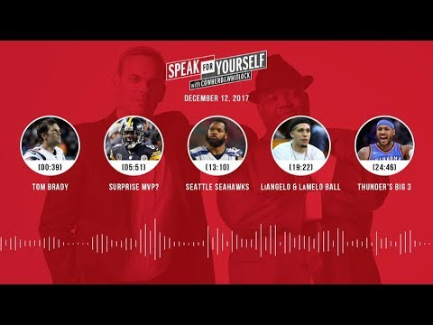 SPEAK FOR YOURSELF Audio Podcast (12.12.17) with Colin Cowherd, Jason Whitlock | SPEAK FOR YOURSELF