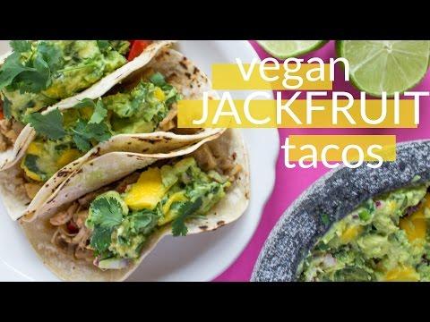 Vegan Jerk Jackfruit Tacos | How to Cook Jackfruit