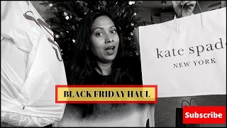 BLACK FRIDAY HAUL 2019 || KATE SPADE, GAP, PUMA, POLO RALPH LAUREN