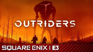 Outriders Full Reveal Presentation | Square Enix E3 2019
