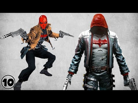 Top 10 Red Hood Shocking Facts