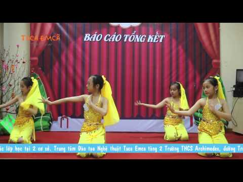 Múa Ấn Độ - Lớp Flamenco Nhí AR1