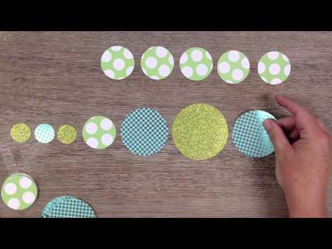 Paper Circle Garland