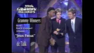 dc Talk mentioned at the 39th Grammy Awards (1997)