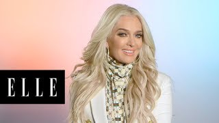 Erika Jayne Talks Tom Girardi, Housewives and Real Cartier | First Thing With  | ELLE