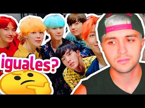 ¿Por qué los IDOLS de K-Pop se ven IGUALES? 🤔 Investigación 🔴  BTS, EXO, Blackpink, Twice...