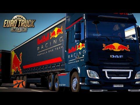 HAULIN' To IRELAND - Red Bull Formula Skin Pack | EURO TRUCK SIMULATOR 2